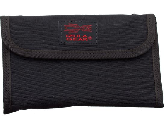 ESEE Izula Gear Passport Case with Bullet Space Pen, Black