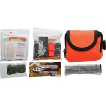 ESEE Basic Survival / E&E Pocket Kit, Orange Pouch