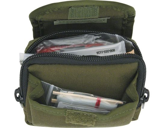 ESEE Basic Survival / E&E Pocket Kit, Green Pouch