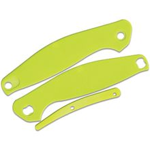 Real Steel Knives E771 Neon Green G10 Handle Set