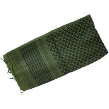 Red Rock Outdoor Gear Shemagh Head Wrap, Olive Drab/Black