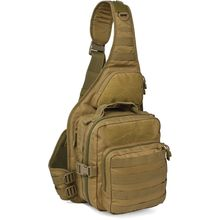 Red Rock Outdoor Gear 80139COY Recon Sling Pack, Coyote Brown
