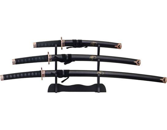 Renegade Tactical Steel Scorpion 3 Piece Samurai Set
