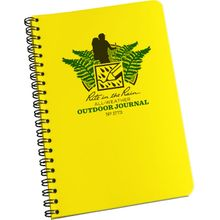 Rite in the Rain Universal Polydura Outdoor Spiral Notebook, 4-5/8 inch x 7 inch, Yellow