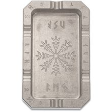 RMJ Tactical Billet Aluminum Ashtray, Valhalla, 3.875 inch x 6.25 inch