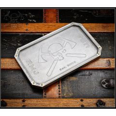RMJ Tactical Billet Aluminum Valet Tray, Angry Steve, 12 inch x 7.4 inch