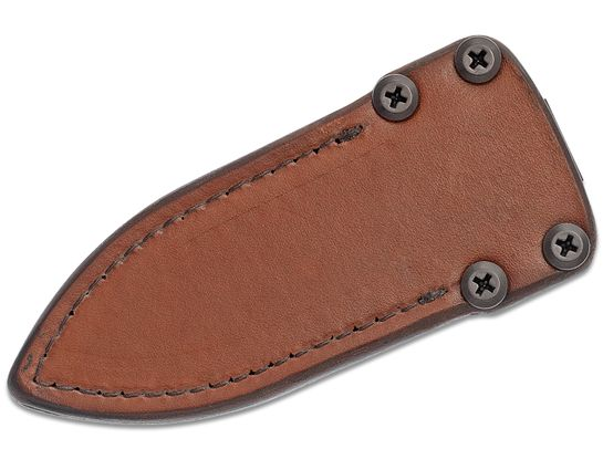 RMJ Tactical Brown Leather Sheath for the COHO Fixed Blade, Sheath Only