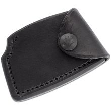 RMJ Tactical Black Leather Edge Cover for the Jenny Wren Tomahawk, Sheath Only
