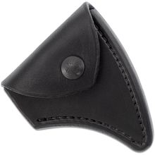 RMJ Tactical Black Leather Edge Cover for the Kestrel Trail Hammer Head Tomahawk, Sheath Only