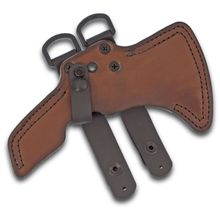 RMJ Tactical Leather Sheath for the Shrike and S13 Tomahawk Only, Sheath Only