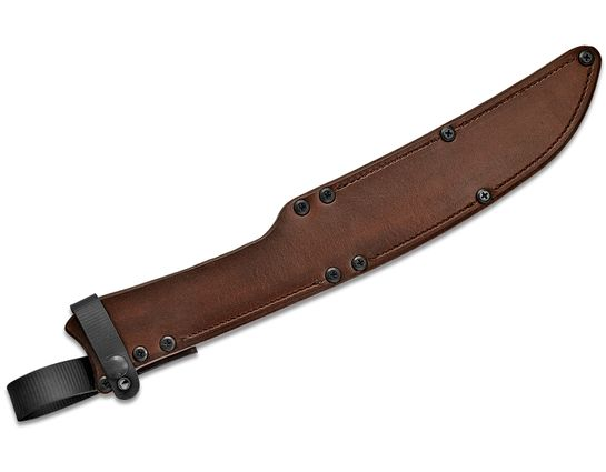 RMJ Tactical Brown Leather Sheath for the Wyvern Short Sword, Sheath Only