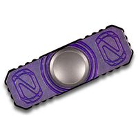 Stedemon Knife Company Z01 Purple Titanium Hand Spinner