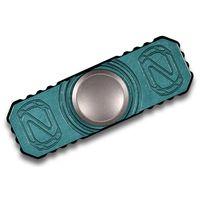 Stedemon Knife Company Z01 Bluish-Green Titanium Hand Spinner