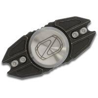 Stedemon Knife Company Z02 Black Stonewashed Titanium Hand Spinner