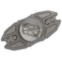 Stedemon Knife Company Z02 Matte Blasted Titanium Hand Spinner