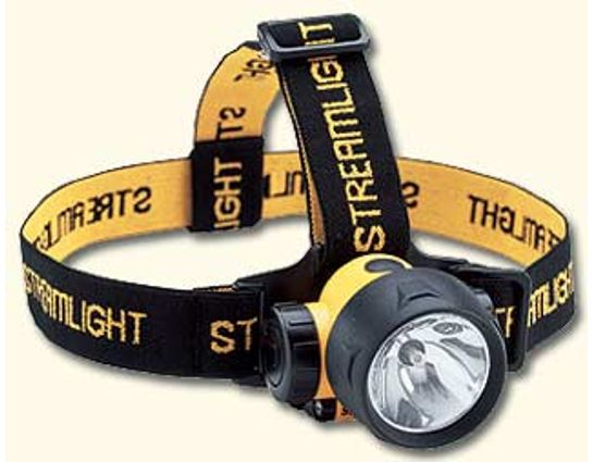 Streamlight Trident HeadLamp Combination Xenon and 3 LED Lights