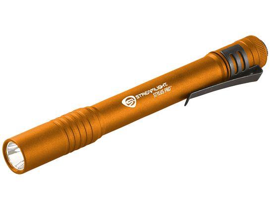 Streamlight Stylus Pro, Orange Aluminum Body, White LED