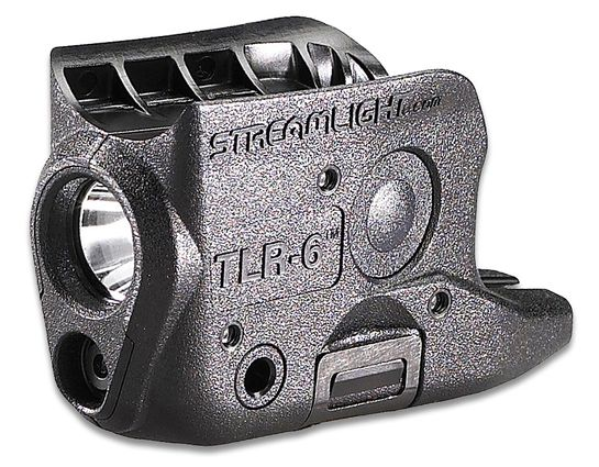 Streamlight TLR-6 Weapon Mount Tactical Light with Red Laser, Fits Glock 42/43/43X/48