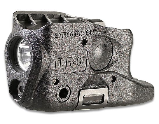 Streamlight TLR-6 Weapon Mount Tactical Light with Red Laser, Fits Glock 26/27/33