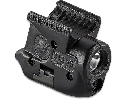 Streamlight TLR-6 Weapon Mount Tactical Light with Red Laser, Fits SIG SAUER P365
