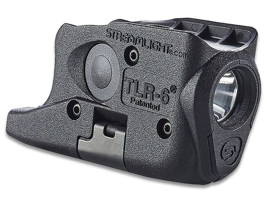 Streamlight TLR-6 Weapon Mount Tactical Light, Fits Glock 26/27/33