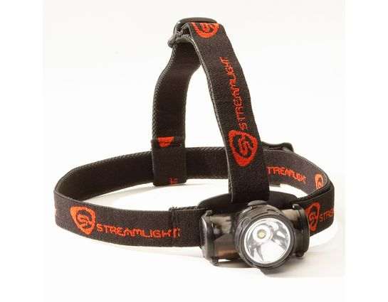 Streamlight Enduro, White LED, Black Body, Elastic Strap, 3 AAA