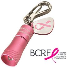 Streamlight Nano Keychain Flashlight, Pink Body Breast Cancer Awareness Edition, White LED 10 Lumens