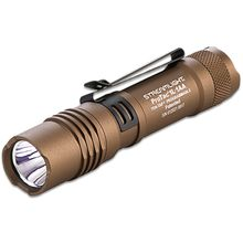 Streamlight ProTac 1L-1AA LED Flashlight, 350 Max Lumens, Coyote Tan, Nylon Pouch