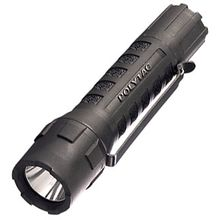 Streamlight Poly Tac LED, Black Body, Uses 2 x CR123, Blister Package, 275 Max Lumens