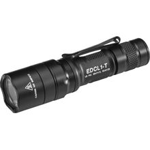 SureFire EDCL1-T Everyday Carry 1 Dual-Output LED Flashlight, Black, 500 Max Lumens