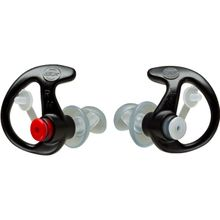 SureFire EP3 Sonic Defender Earplugs, Large, Black, 1 Pair