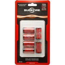 SureFire SF6-BC 6 Pack SureFire 123A Lithium Batteries