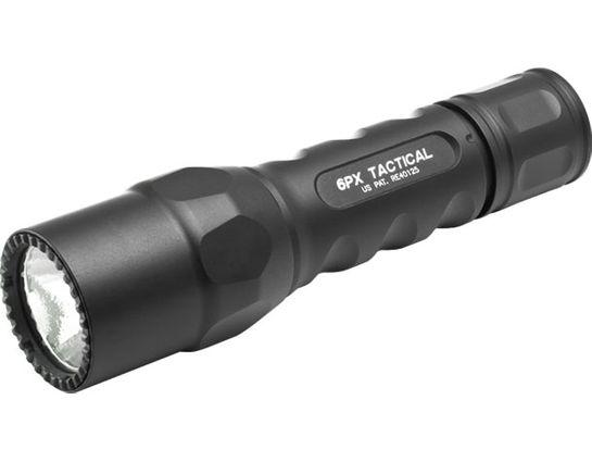 SureFire 6PX Tactical Single-Output LED Flashlight, 320 Lumens