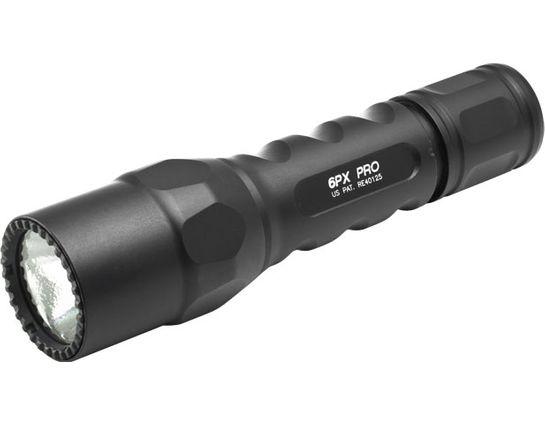 SureFire 6PX Pro Dual-Output LED Flashlight, 320 Max Lumens