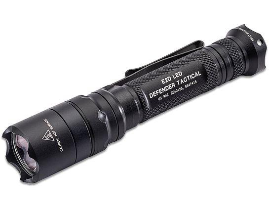 SureFire E2DLU-T LED Defender Tactical Single-Output Tactical Flashlight, 1000 Max Lumens