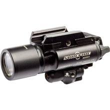 SureFire X400 Ultra — Red Laser LED Handgun / Long Gun WeaponLight with Laser, 500 Lumens (X400U-A-RD)