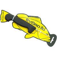 Svord Kiwi IKI Fish Spike 3 inch Carbon Steel, Black Polypropylene Handle