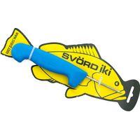 Svord Kiwi IKI Fish Spike 3 inch Carbon Steel, Blue Polypropylene Handle