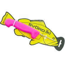 Svord Kiwi IKI Fish Spike 3 inch Carbon Steel, Pink Polypropylene Handle
