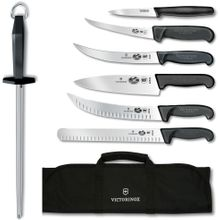 Victorniox Swiss Army Ultimate Competition BBQ 8 Piece Set, Black