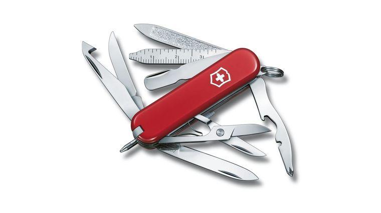 Victorinox Swiss Army MiniChamp Multi-Tool, Red, 2.28 inch Closed (Old Sku 53973)