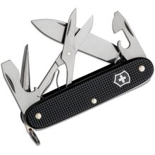 Victorinox Swiss Army Pioneer X Multi-Tool, 3.7 inch Black Alox Aluminum Handles, KnifeCenter Exclusive