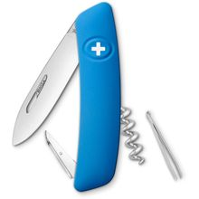 SWIZA D01 Swiss Pocket Knife Multi-Tool, Blue, 2.95 inch Plain Blade