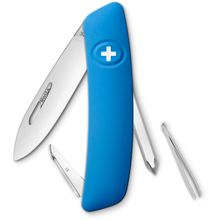 SWIZA D02 Swiss Pocket Knife Multi-Tool, Blue, 2.95 inch Plain Blade