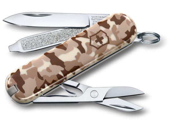 Victorinox Swiss Army Classic SD Multi-Tool, Desert Camo, 2.28 inch Closed