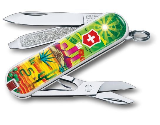 Victorinox Swiss Army Contest Classic SD Limited Edition 2018 Multi-Tool, Mexican Sunset, 2.25 inch Closed