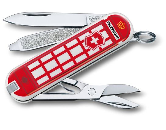 Victorinox Swiss Army Contest Classic SD Limited Edition 2018 Multi-Tool, A Trip to London, 2.25 inch Closed