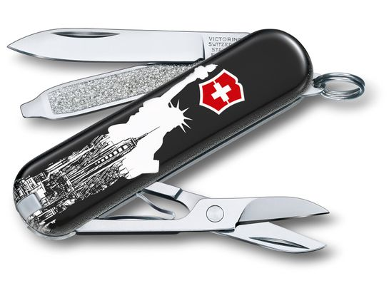 Victorinox Swiss Army Contest Classic SD Limited Edition 2018 Multi-Tool, New York, 2.25 inch Closed