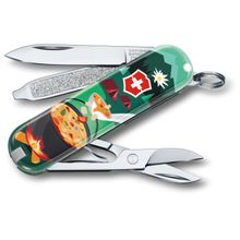 Victorinox Swiss Army Contest Classic SD Limited Edition 2019 Multi-Tool, Swiss Mountain Dinner, 2.25 inch Closed