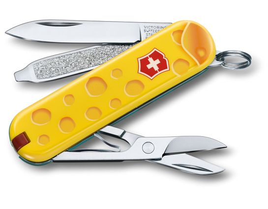 Victorinox Swiss Army Contest Classic SD Limited Edition 2019 Multi-Tool, Alps Cheese, 2.25 inch Closed (Old Sku 0.6223.L1902US1)